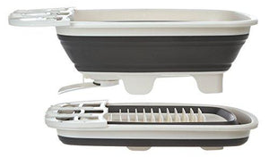 Prep Solutions By Progressive Swivel Spout Collapsible Dish Drainer Ps-202 Large Dish Tub
