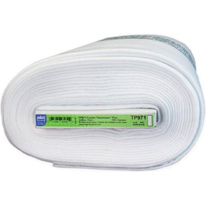 Pellon Thermolam Plus Fusible Fleece, 45-Inch/15-Yard, White
