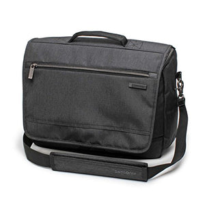 Samsonite Modern Utility Messenger Bag Laptop Charcoal Heather One Size