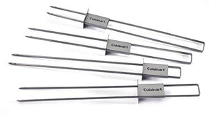 Cuisinart CSKS048 Sliding Skewer Pack Silver (Set of 4)
