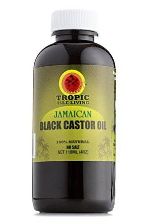 Tropic Isle Living Jamaican Black Castor Oil Plastic Pet Bottle (4 Oz)