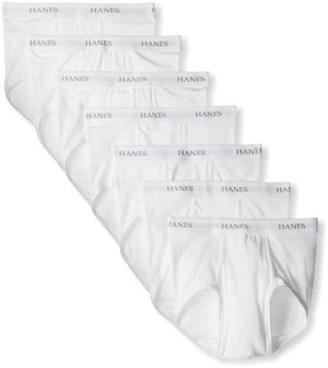 Hanes Ultimate Men's FreshIQ ComfortSoft Briefs (7 Pack), White X-Large