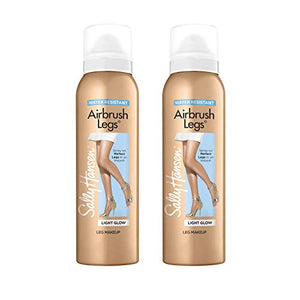Sally Hansen Air Brush Legs Light Glow - Duo Pack, 4.4 Ounce (Pack of 2)