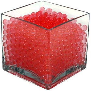 Wgv Jelly Decor Aqua Crystal Jelly Water Beads, Red