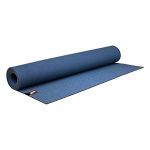 Dragonfly Yoga Natural Rubber Lite Yoga Mat, Blue
