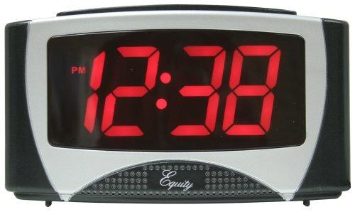 Equity by La Crosse 30029 Alarm Clock with 1.2-Inch LED Display
