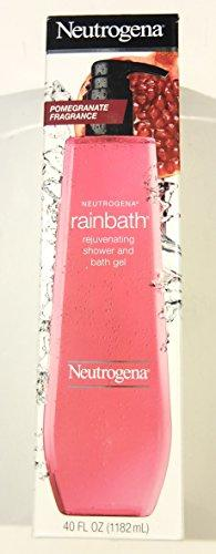 Neutrogena Rainbath Shower And Bath Gel, Rejuvenating Pomegranate (40 Fl Oz)