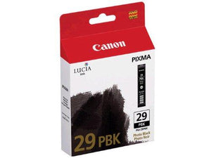 Canon Lucia Pgi-29 Photo Black Individual Ink Tank Ink