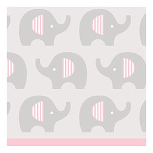 "Creative Converting 316940 Beverage Napkins 5""X 5"" Pink"