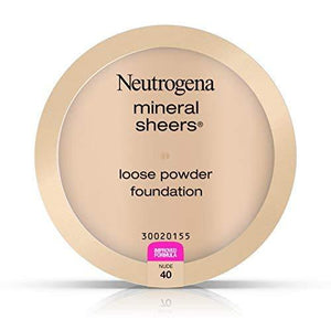 Neutrogena Mineral Sheers Loose Powder, Nude, 0.19 Ounce
