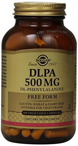 Solgar - Dlpa 500 Mg, 100 Vegetable Capsules
