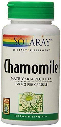 Solaray Chamomile Capsules, 350 Mg, 100 Count