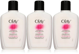 OLAY Active Hydrating Beauty Fluid Original 6 oz (Pack of 3)