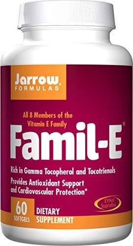 Jarrow Formulas Famil-E, Supports Cardiovascular Health, 60 Softgels
