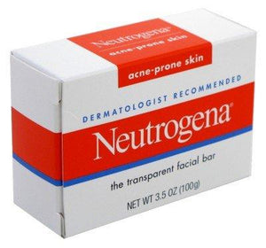 Neutrogena Acne-Prone Facial Bar 3.5 Ounce Box (103Ml) (3 Pack)