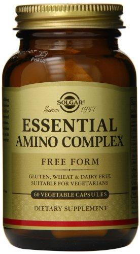 Solgar Essential Amino Complex, 60 Vegetable Capsules