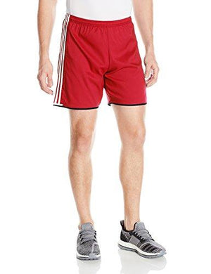adidas Men's Soccer Condivo 16 Shorts, Power Red/Black/White, Medium