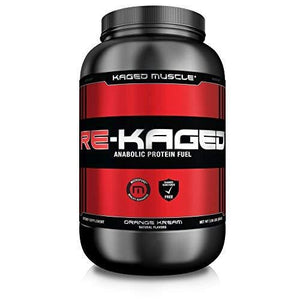 Kaged Muscle Re-Kaged Post Workout Whey Protein Powder Orange Kream 20 Servings