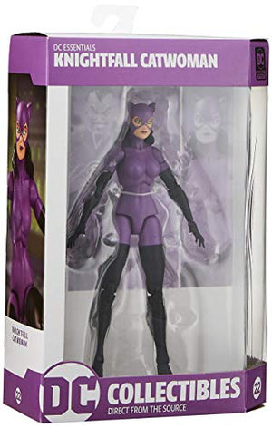 DC Collectibles Essentials: Knightfall Catwoman Action Figure, Multicolor