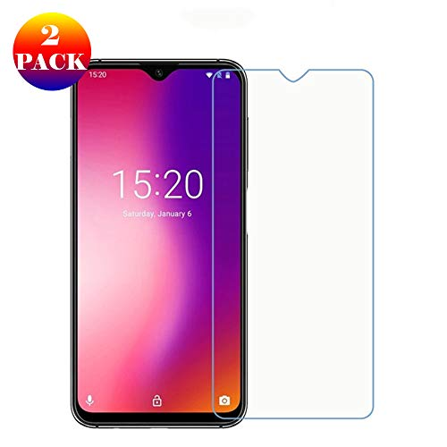 GOGODOG Compatible with UMIDIGI One Max Screen Protector Glass [2 Pack] Full Cover Ultra Clear 3D Premium Tempered Glass Film For Umi One Max