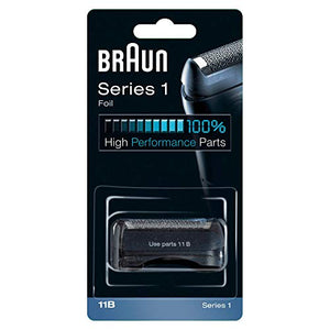 Braun 11B Replacement Foil and Cutter Cassette Multi Blue/ Dark Blue BLS Combi Pack