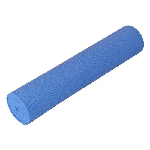 "Yogadirect 1/4"" Deluxe Extra Thick Yoga Sticky Mat, Glaucous Blue"