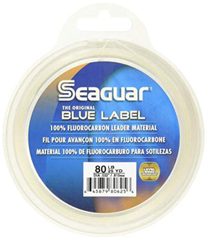 Seaguar Blue Label 25-Yards Fluorocarbon Leader (15-Pounds)