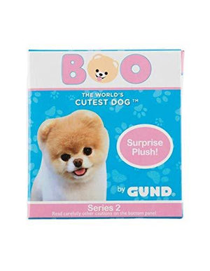 Gund 4061287 World'S Cutest Dog Boo Surprise Stuffed Animal Plush Blind Box Series #2: Animal Theme, Multicolor, 3""