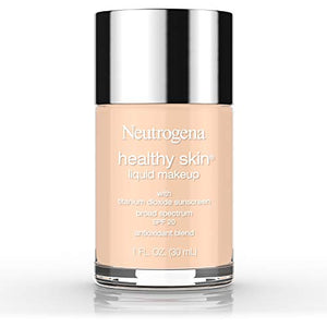 Neutrogena Healthy Skin Liquid Makeup Foundation, Broad Spectrum Spf 20, 40 Nude, 1 Oz.