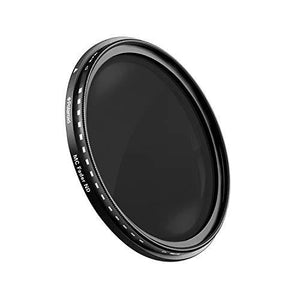 Polaroid Optics 40.5Mm Multi-Coated Variable Range [Nd3, Nd6, Nd9, Nd16, Nd32, Nd400] Neutral Density Fader Filter Nd2-Nd2