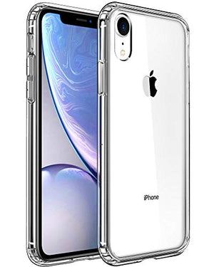 Mkeke Compatible With Iphone Xr Case Clear Anti-Scratch Shock Absorption Cover Case
