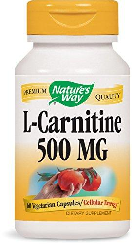 Nature'S Way L-Carnitine 500 Mg, 60 Vcaps