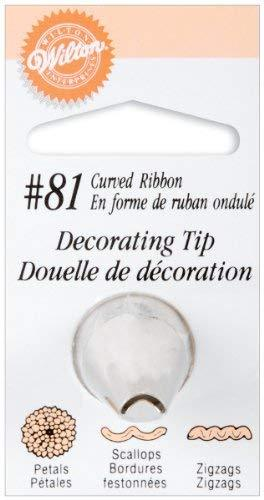 Wilton 418-81 Decorating Tip 81 Chrysanthemum