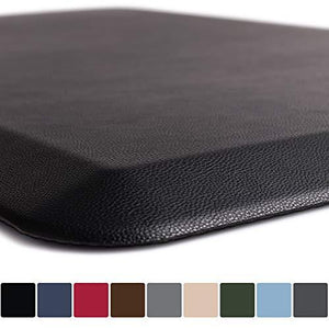 Gorilla Grip Original 34 Premium AntiFatigue Comfort Mat (48x20 Black)