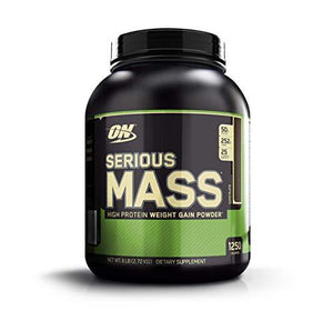 Optimum Nutrition Serious Mass Weight Gainer Protein Powder, Chocolate, 6 Pound