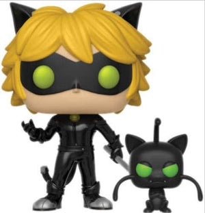 Cat Noir With Plagg Miraculous Funko Pop