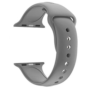 Huanlong wu8199 42mm Soft Silicone Sport Style Replacement Band for Apple Wrist Watch Series 1/2/3