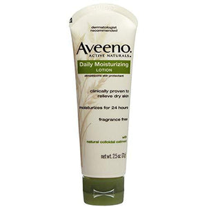 Aveeno Active Naturals Daily Moisturizing Lotion 2.50 Oz (Pack Of 4)