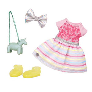 "Glitter Girls by Battat - Shiny Flowers In Bloom Outfit -14"" Doll Clothes– Toys, Clothes & Accessories For Girls 3-Year-Old & Up (GG50107Z)"