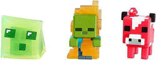 Mattel Minecraft Collectible Figures Set I (3-Pack), Series 3