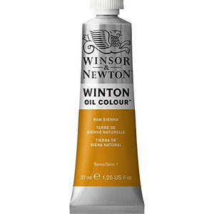 Winsor & Newton Winton Oil Colour Paint, 37Ml Tube, Raw Sienna