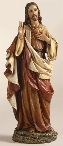 Renaissance Collection Joseph'S Studio 10.25 Inch Tall Sacred Heart Of Jesus Figure