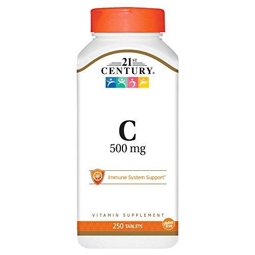 21St Century C 500 Mg Tablets, 250 Count