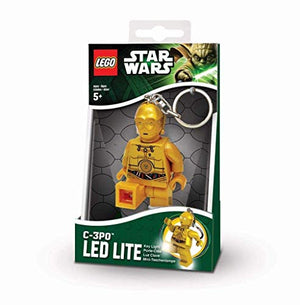 LEGO Star Wars The Last Jedi C-3PO LED Key Chain Flashlight