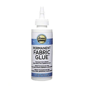Aleene'S Permanent Fabric Glue 4Oz