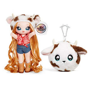 MGA Entertainment Na! Na! Na! Surprise 2-in-1 Fashion Doll and Plush Purse Series 3 – Annabelle Moooshe
