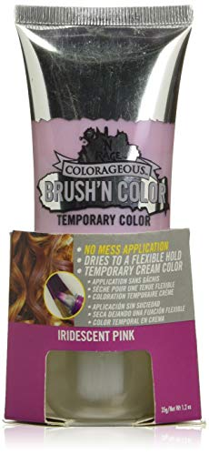 N'Rage Colorageous Brush'n Color, Iridescent Pink, 1.2 Ounce