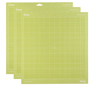 "Cricut StandardGrip Adhesive Cutting Mat 12""x12"" - For Cricut Explore Air 2/Cricut Maker - 3 Pack"