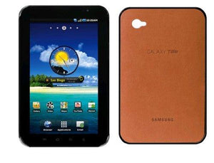 Samsung Galaxy Tab Protective Leather Back Snap On Case - Camel (Ef-C980Ccegsta)