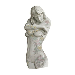 Design Toscano Tattoo Temptation Floral Seduction Wall Sculpture Collection